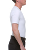 Underworks FTM Cotton look tank top has powerful binding inner panel for shapely masculine look