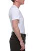Manshape FTM MagiCotton V-Neck Compression Shirt flattens the tummy