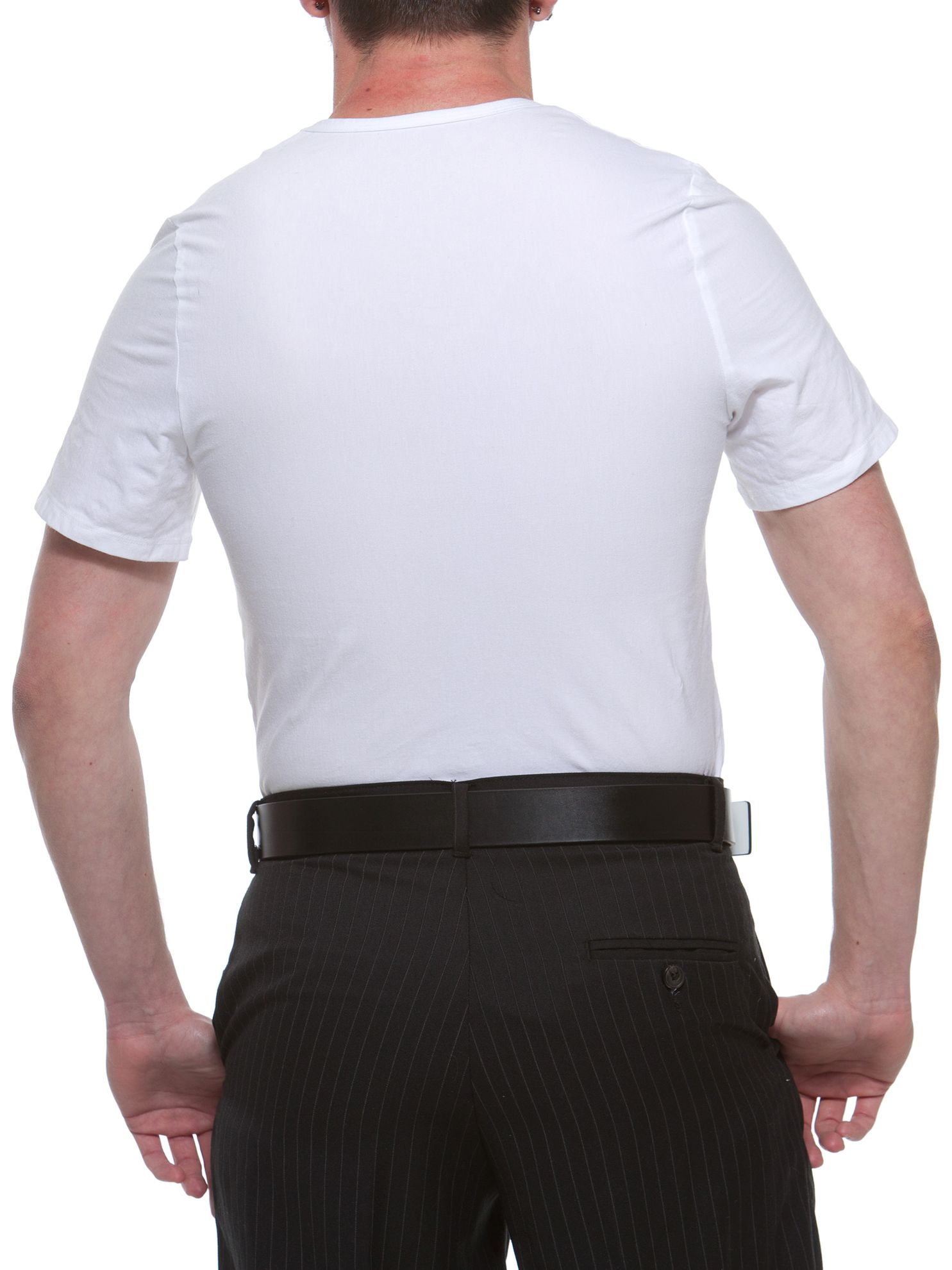 Underworks Manshape Tummy Trimming and Torso Shaping Compression Shirt