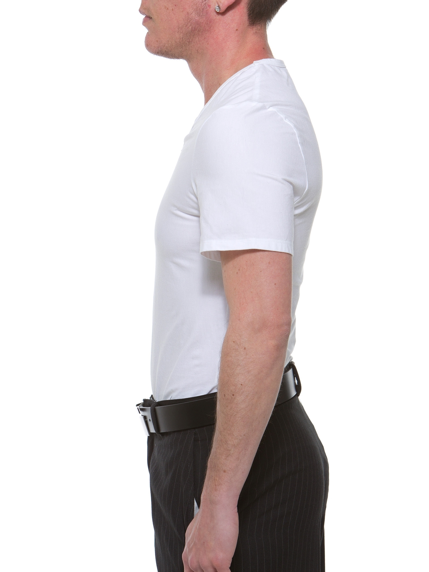 Underworks Mens Extreme Gynecomastia FTM Chest Binder Girdle T-shirt