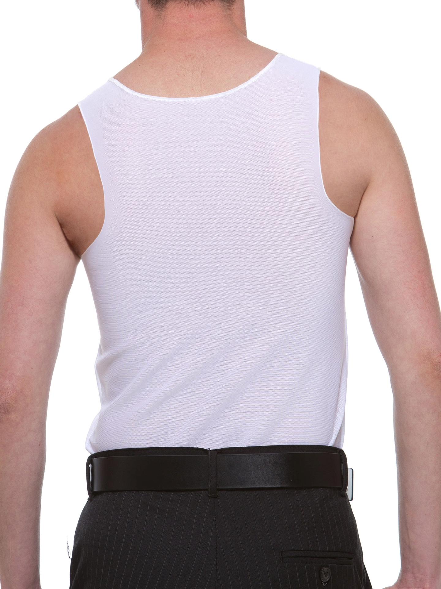 Underworks FTM Cotton Lined Power Chest Binder Compression Tank for trans people