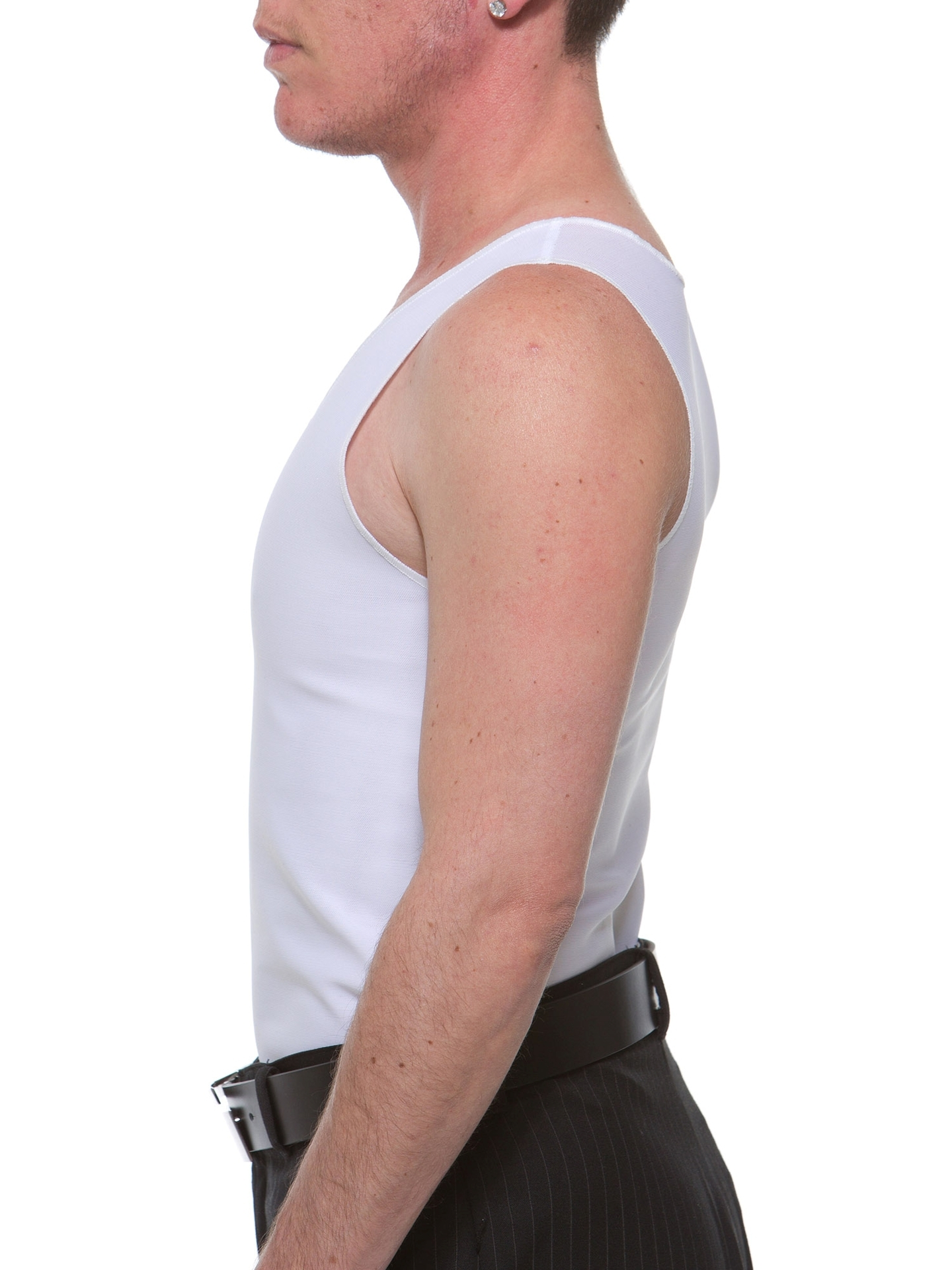 Underworks FTM High compression chest binder to flatten the chest safely and effectively