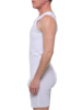 FTM White Breast Binder Tanksuit