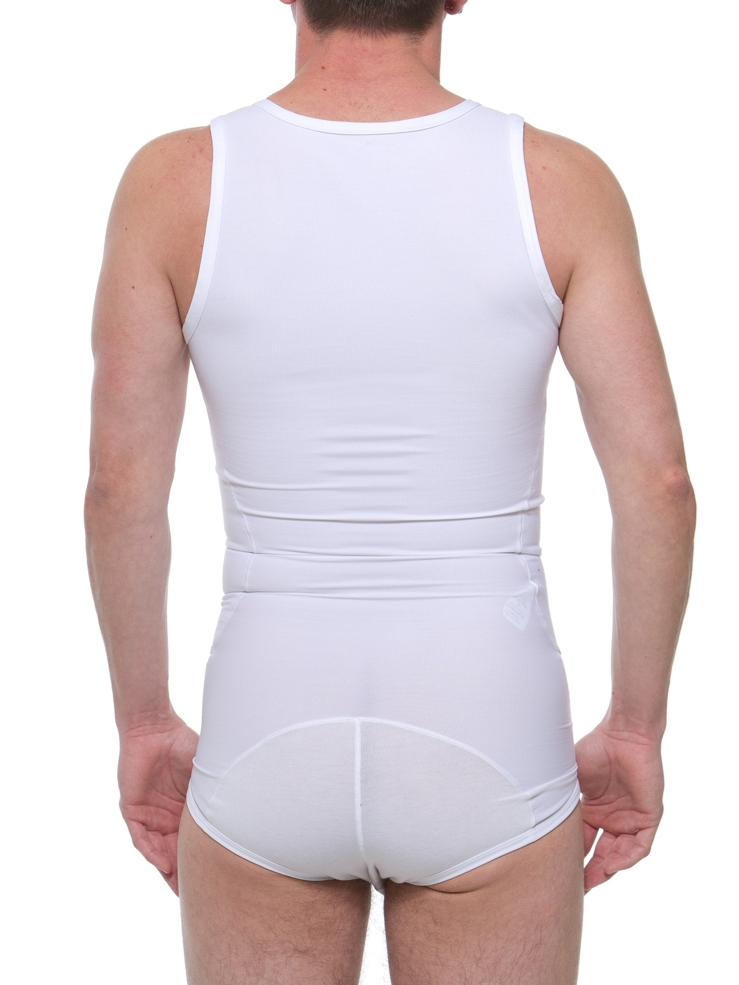 Underworks firm holding support tanksuit